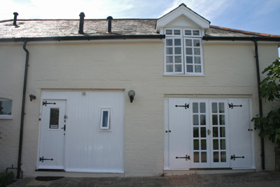 Panelling, panelled windows and doors in gloss